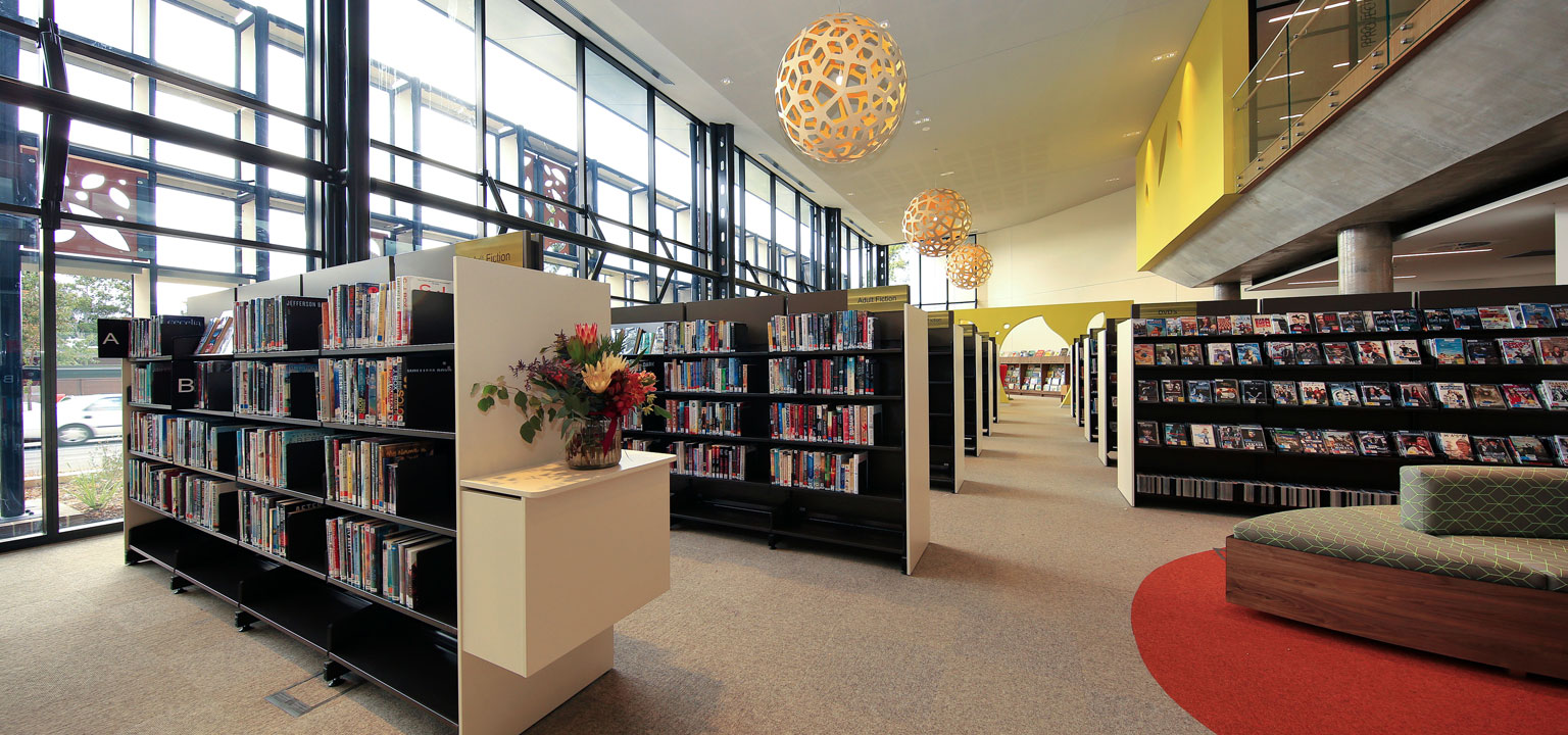 Your new Glen Street Library