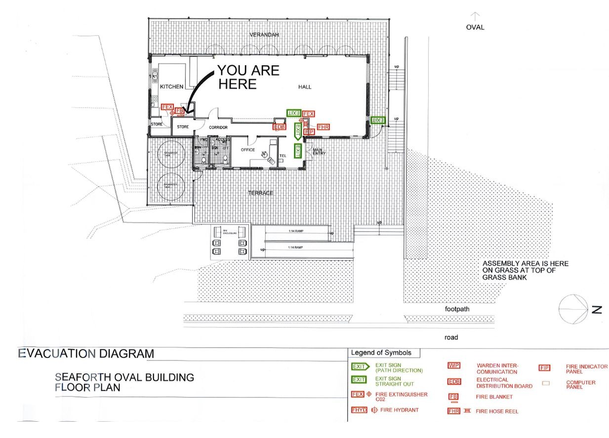 Seaforth Oval Community And Sporting Pavilion Northern Beaches Council Distribution Here In About Diagrams Can Schematic Have The Evacuation Floor Plan