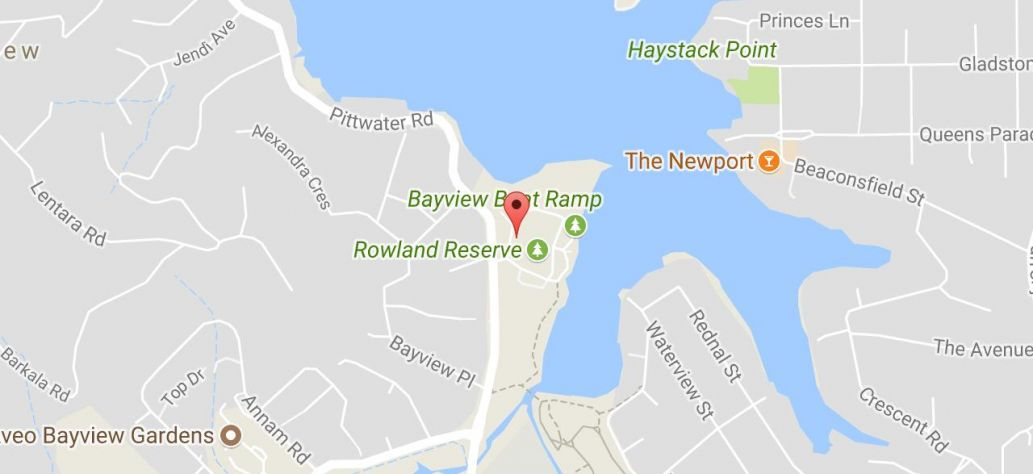 Map of Rowland Reserve