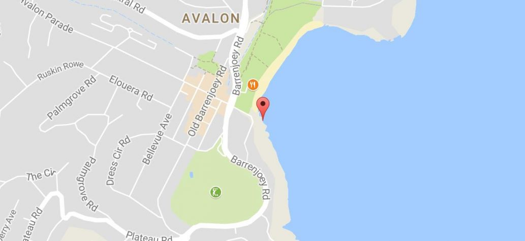 Map of Avalon Rockpool