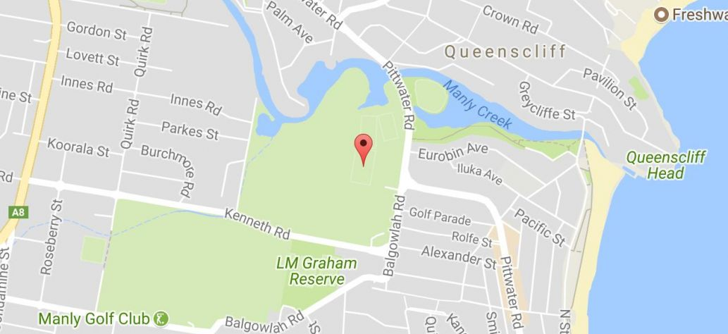 Map of Keirle Park