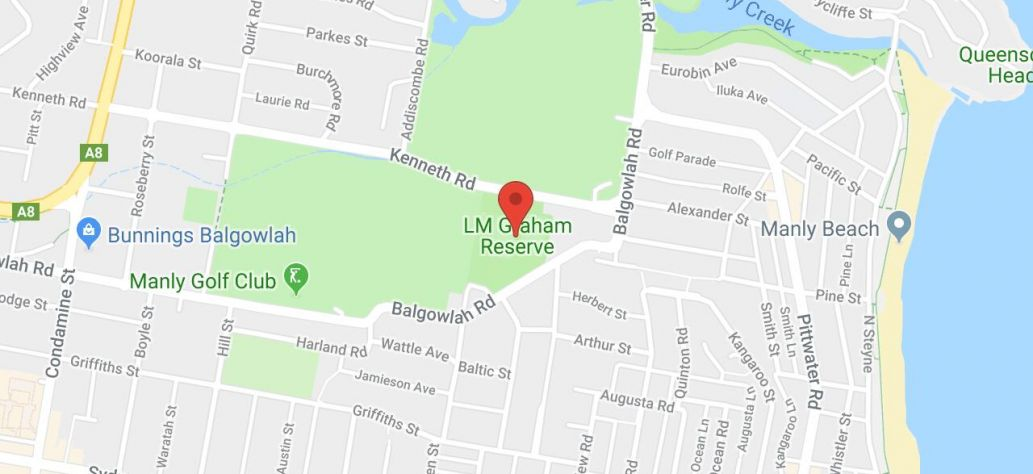 Map of LM Graham Reserve