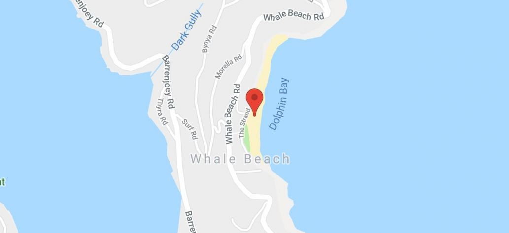 Map of Whale Beach