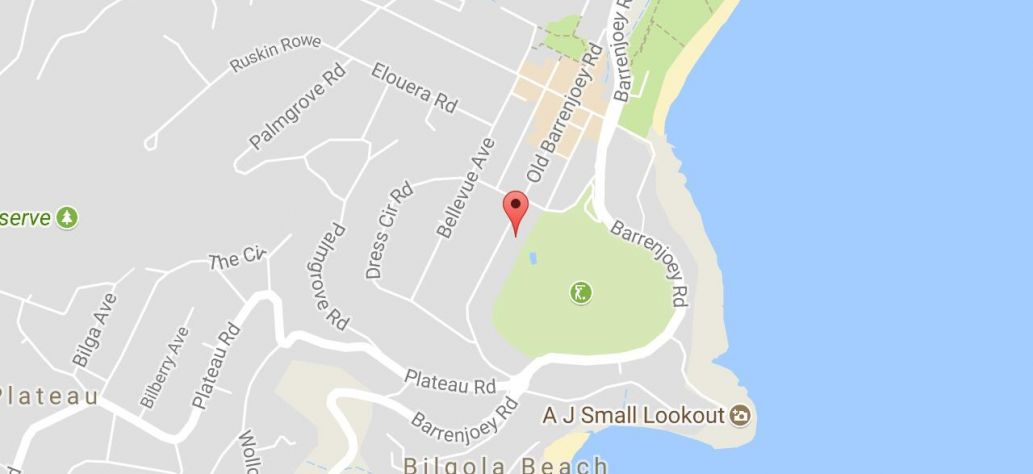 Map of Old Barrenjoey Rd Netball Courts
