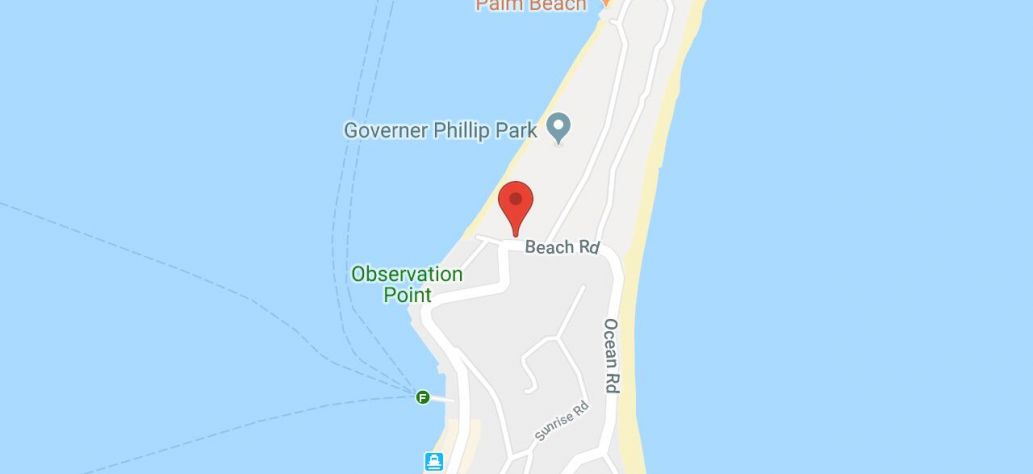 Map of Station Beach