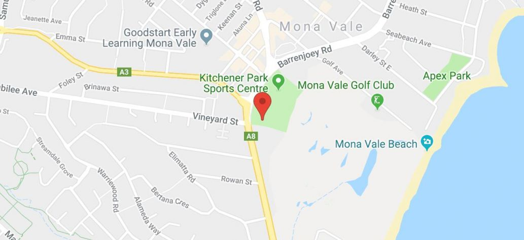 Map of Mona Vale Skate Park