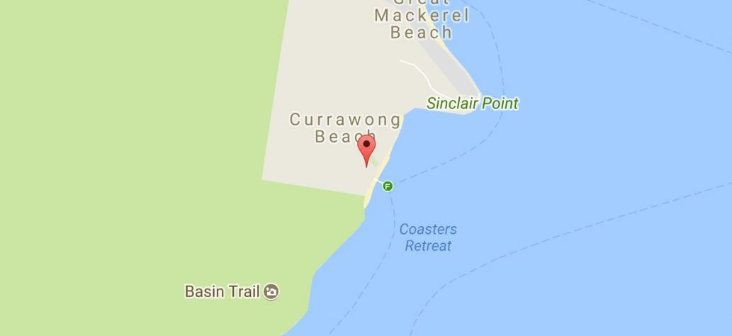 Map of About Currawong