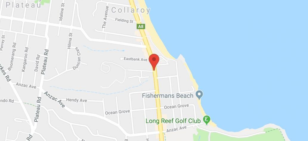 Map of Collaroy Accessibility Precinct