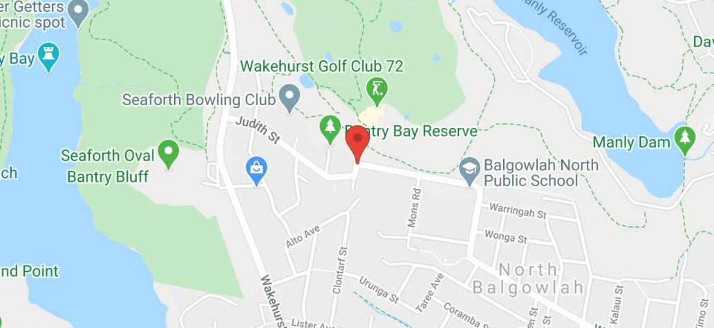 Map of Wakehurst Couvret Tennis Centre