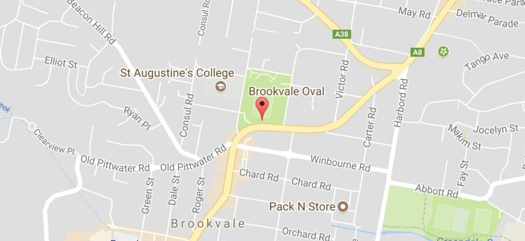 Map of Brookie Show