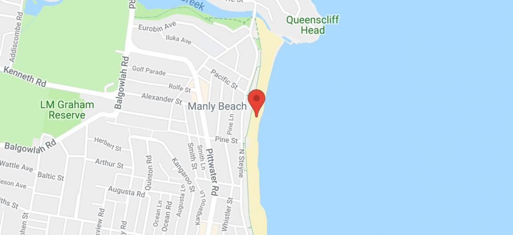 Map of Manly Jazz