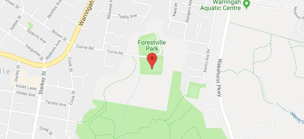 Map of Forestville Park