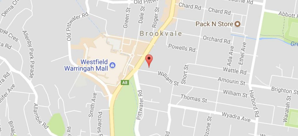 Map of Booked Out - Seniors Festival - Historic Brookvale