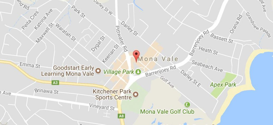 Map of Lego Club at Mona Vale Library