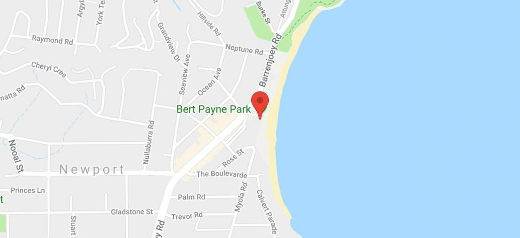 Map of Bert Payne Park