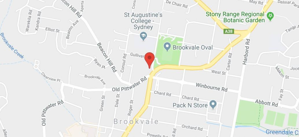 Map of Brookvale Community Centre