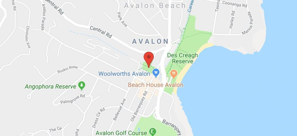 Map of Avalon Car Boot Sale