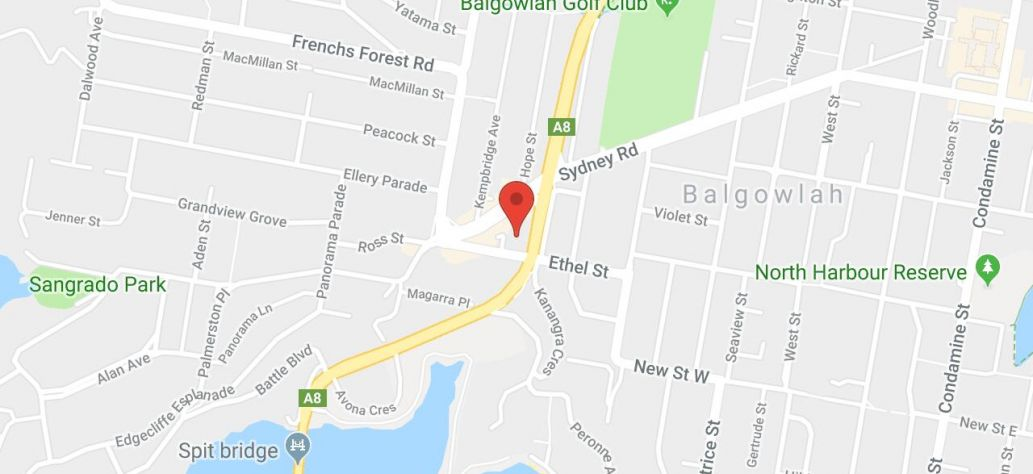 Map of 2018 Northern Beaches Science Competition