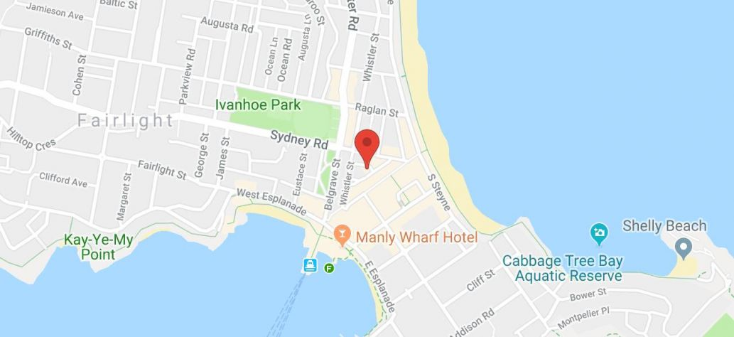Map of Figure Drawing Workshop at Manly Library