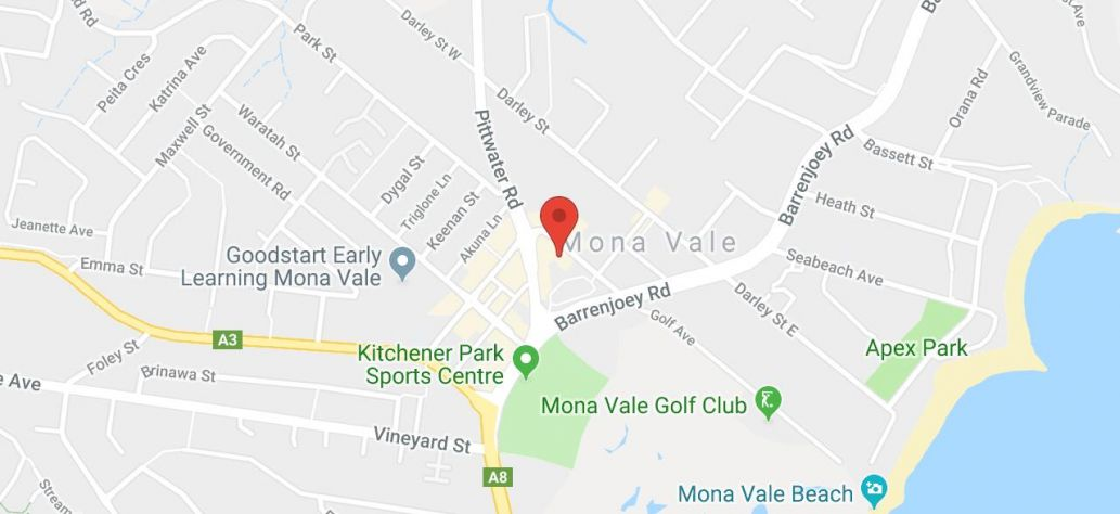 Map of Polymer Clay Workshop at Mona Vale Library