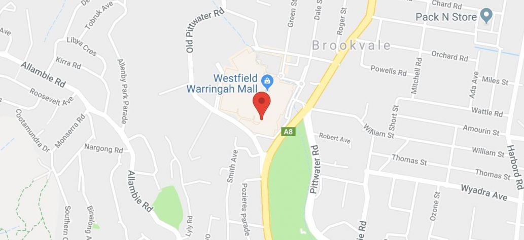 Map of Polymer Clay Workshop at Warringah Mall Library