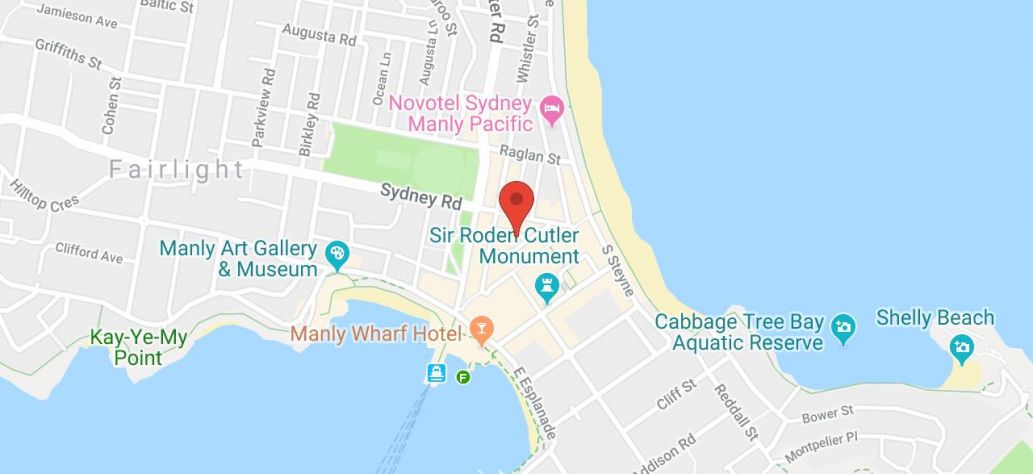 Map of Science Talks at Manly Library