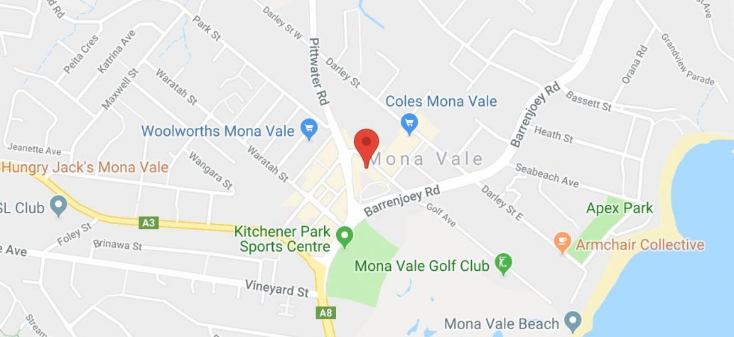 Map of Teddy Bears Sleepover at Mona Vale Library
