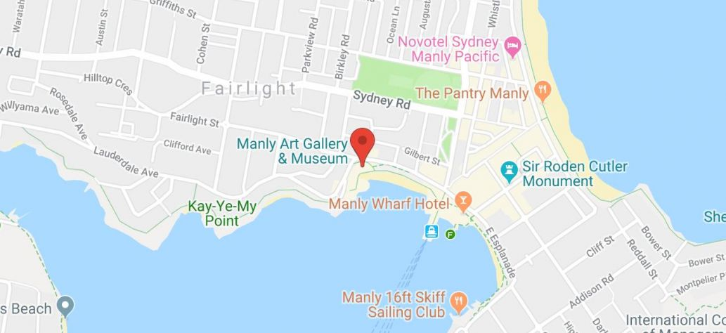Map of The Sydney Chamber Music Festival 2019: Imaginary
