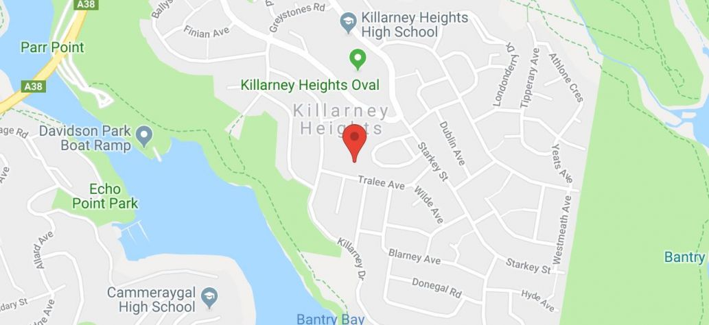 Map of French Market Killarney Heights