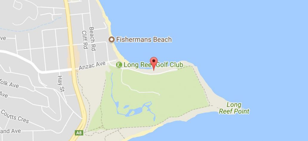 Map of Long Reef Reserve