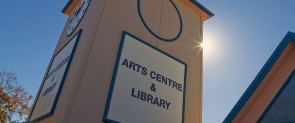 Forest Community Arts Centre Entrance