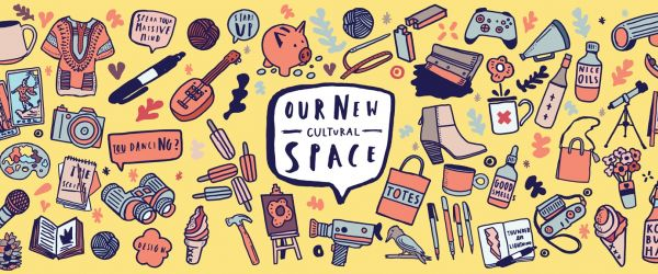 New Cultural space graphic