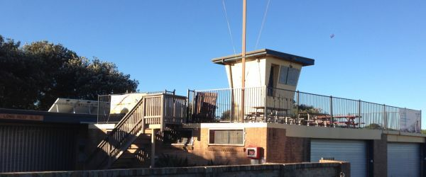 Long Reef Surf Life Saving Club watchtower