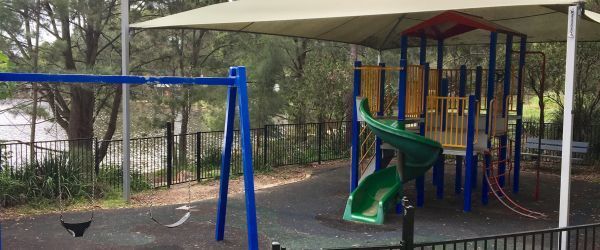 Manly Dam Playground equipment pre-renewal