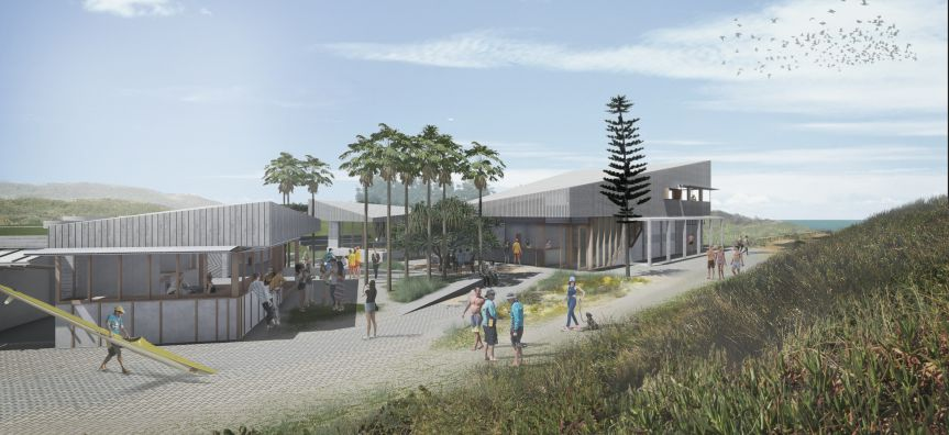 Long Reef SLSC Concept