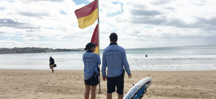 Lifeguards at Manly Beach