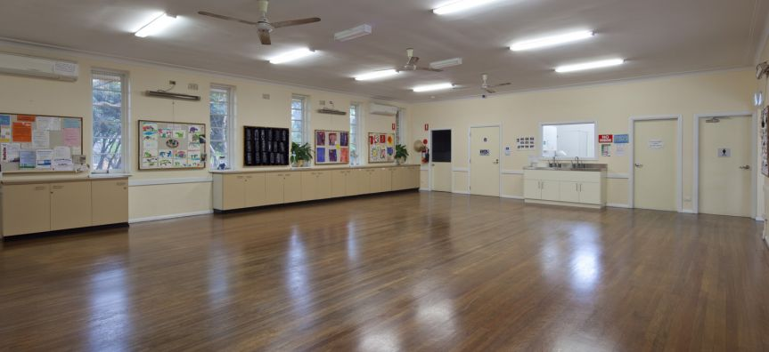 Main Hall of the Belrose Community Centre