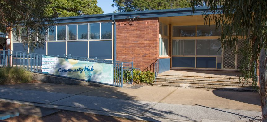 Brookvale Community Centre Front Entrance