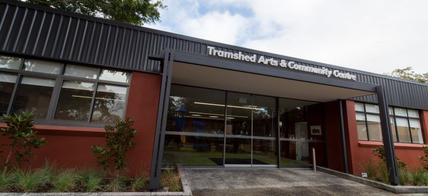 Tramshed Arts & Community Centre Entrance