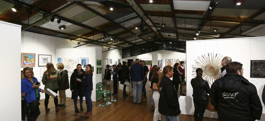 Northern Beaches Art Prize 2018 - Youth + Waste to Art award night