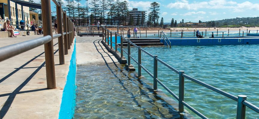 Dee Why Pool Disability Ramp