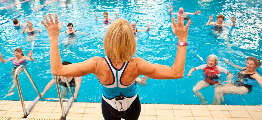 Image result for water aerobics