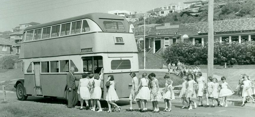 Stewart House Curl Curl 1950s. Courtesy of Dee Why Library Local Studies
