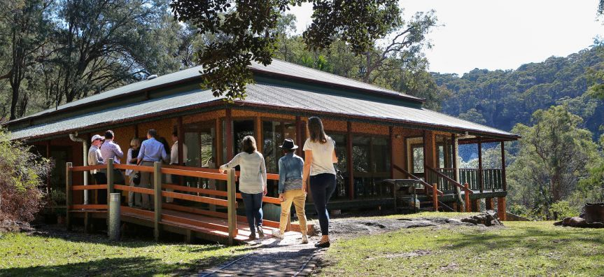 Currawong Lodge is a perfect place for groups to stay