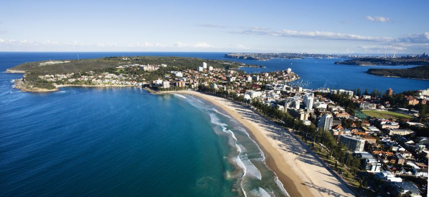 Manly Beach and Harbour