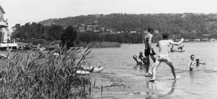 Play in the water - Narrabeen 1957
