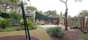 Playground outside the Belrose Community Centre
