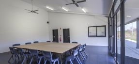 Griffith Park Sports Facility Room