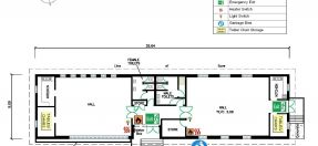 Youth Centre Floor Plan