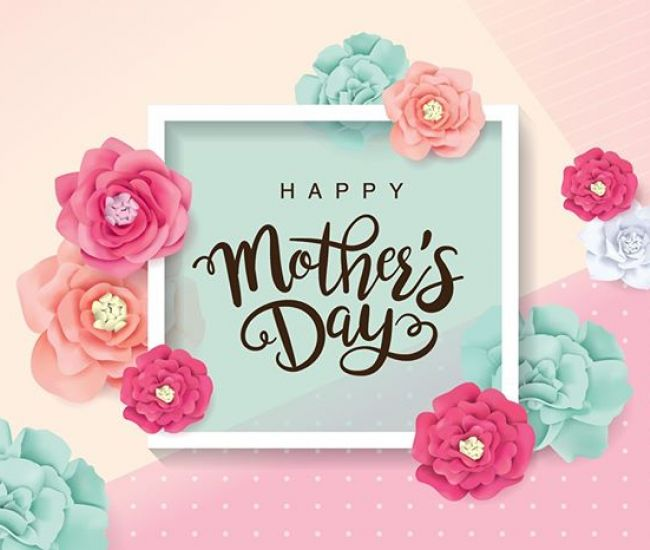 Mums are troopers. Thanks for all that you do and all that you are. Happy Mother's Day!